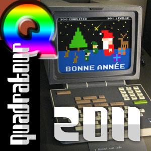 Quadratour Bonne Année 2011